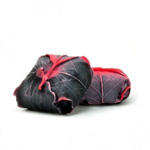 figura-de-hojas-de-jabon-frambuesa